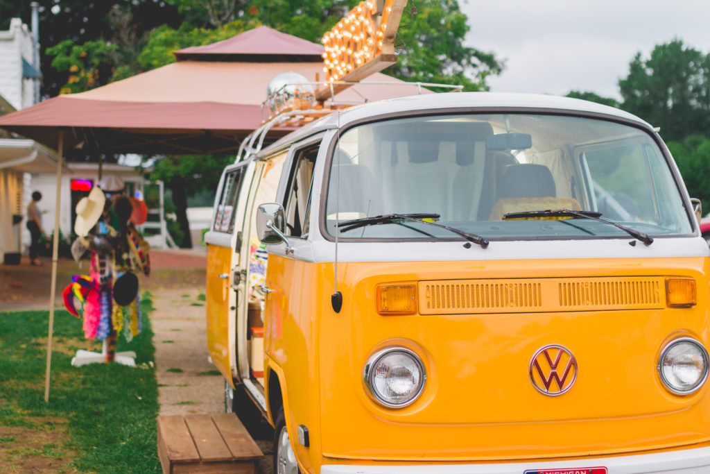 Volkswagen Bus | VW Photo booth bus | Southwest Michigan Event | Photo booth bus | west Michigan event | vintage | bohemian wedding | hippie style | 77 Kombi | air cooled | Michigan photographer | michigan events | barefoot wedding | outdoor wedding ideas | corporate event planner | michigan venue | west michigan event | grand rapids event | lakeshore wedding | class reunion | the dock at bayview
